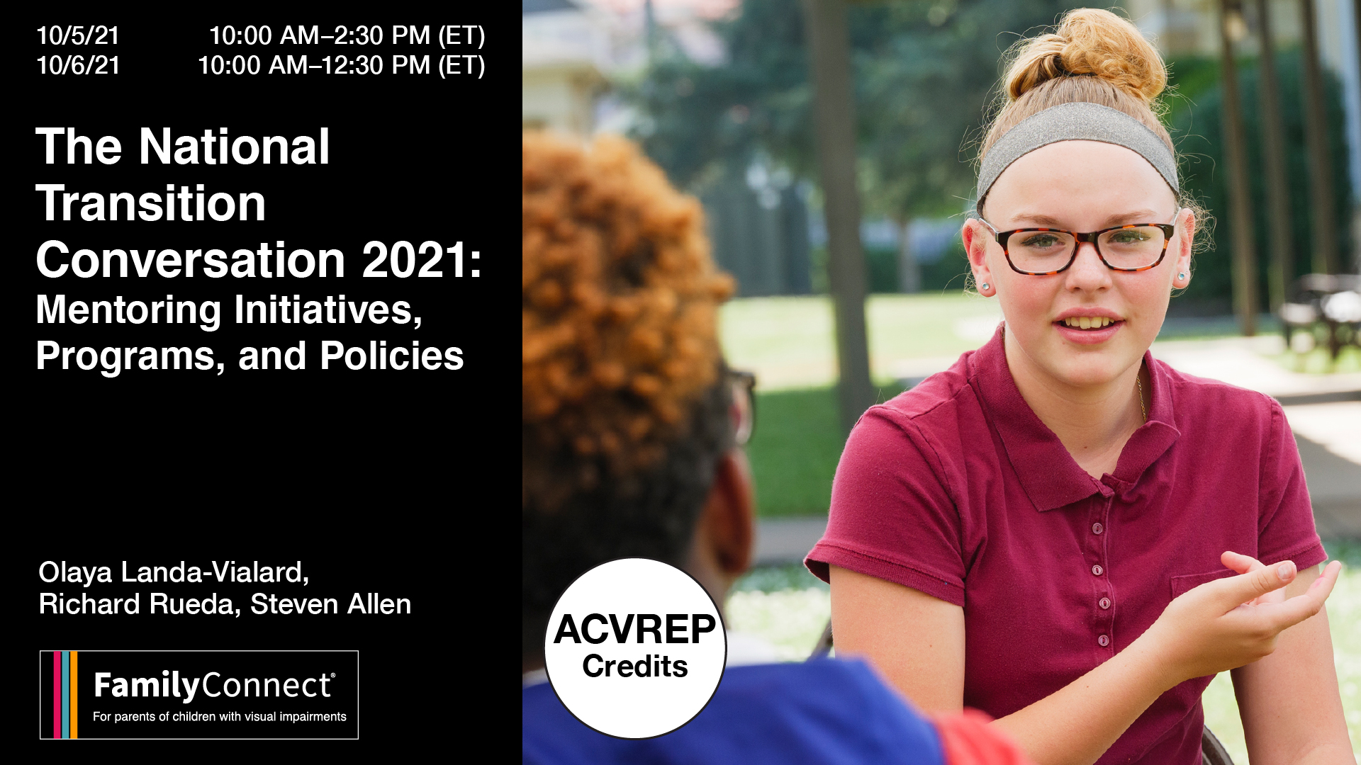 The National Transition Conversation 2021: Mentoring Initiatives, Programs and Policies